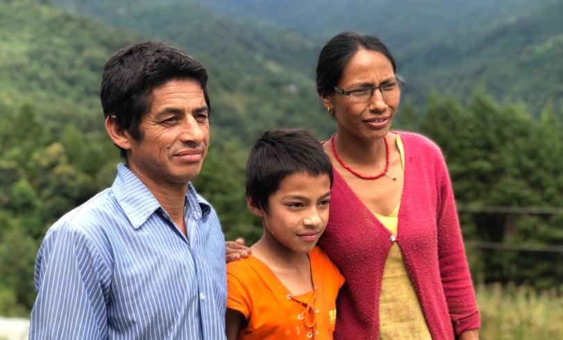 Kleinunternehmer-Familie