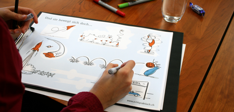 Visualisierungs-Workshop: Nimm den Stift und mal etwas!